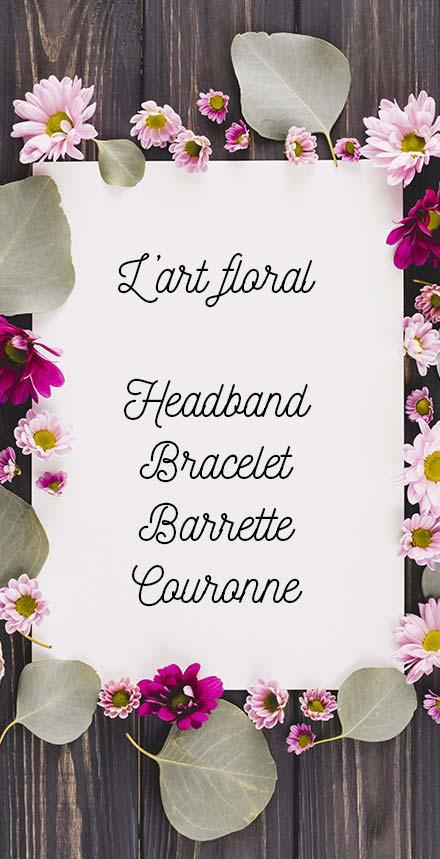 Atelier art floral à Vitrolles