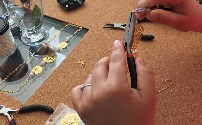 Atelier bijoux fait main