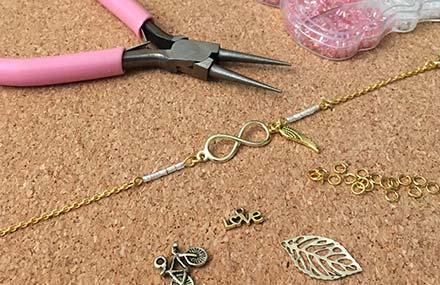 Atelier bijoux à Outreau - le matériel