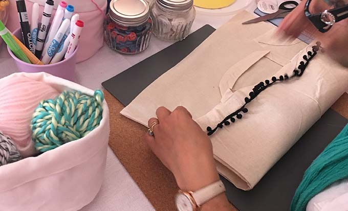 Atelier créatif - Atelier tote bag