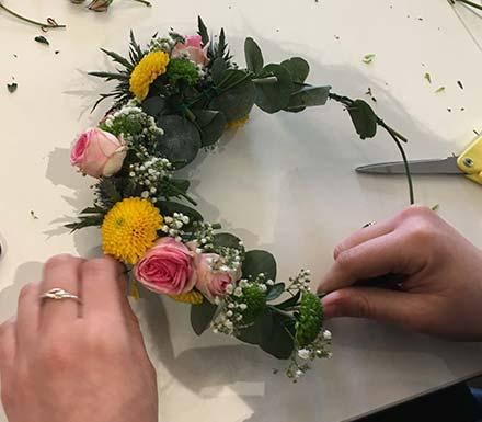 Cours d'art floral à Vitrolles
