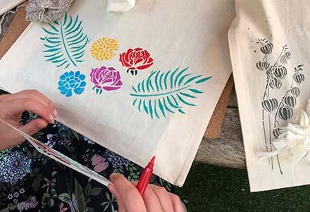 DIY tote bag à Cholet