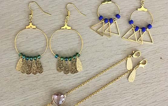 EVJF - Atelier bijoux - Boucles d'oreilles