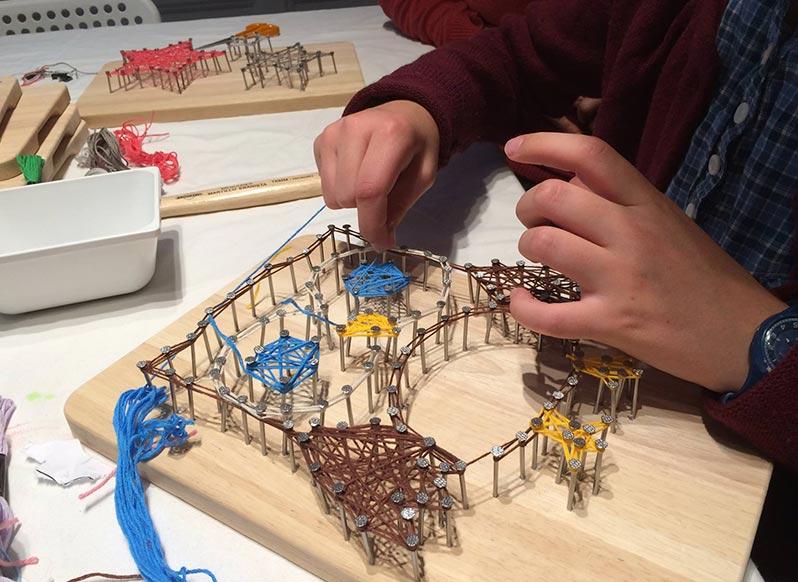 Atelier string art à Paris