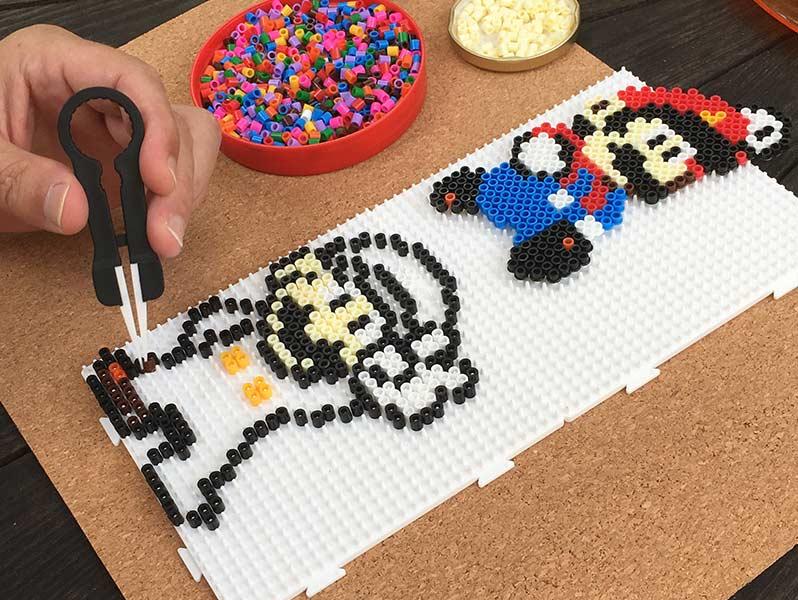 Perle Hama Mario