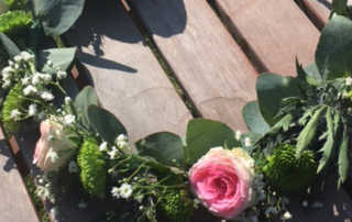 Couronne de fleurs DIY Nantes
