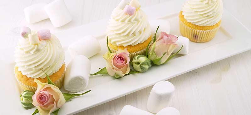 EVJF cupcakes
