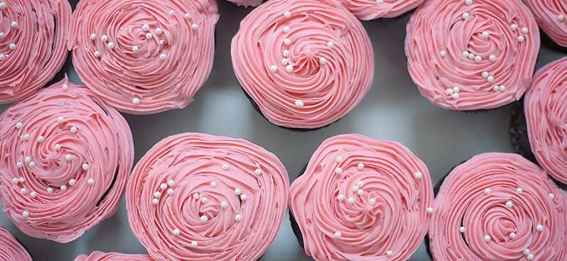 glacage cupcakes
