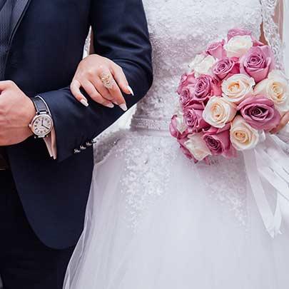 Mariage et vin d'honneur