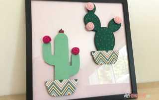 Tuto DIY supports en bois cactus - Decorez-moi.fr
